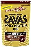 ザバス ホエイプロテイン100 チョコレート味 【17食分】 357g
