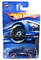 Hot Wheels 2005-104 1969 Dodge Charger 4/5 Muscle Mania 1:64 Scale