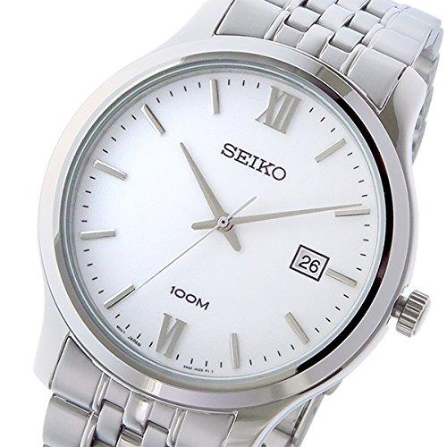 セイコー ネオクラシック NEO CLASSIC クオーツ メンズ 腕時計 SUR217P1 ホワイト [並行輸入品]