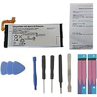 docomo Xperia XZ Premium SO-04J用 交換用バッテリー(内蔵電池パック) + 簡易工具キット LIP1642ERPC