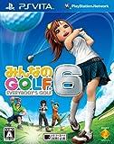 【PS Vita】みんなのGOLF 6