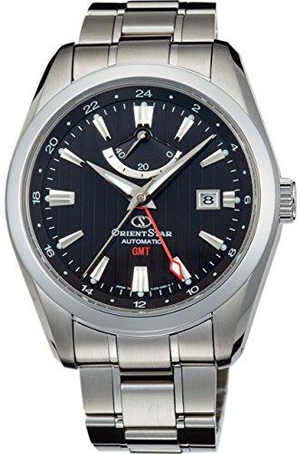 [オリエント]ORIENT 腕時計 ORIENTSTAR オリエントスター GMT 機械式 自動巻(手巻付) ブラック WZ0061DJ メンズ