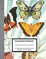 """Composition Notebook: Wide Ruled Paper Notebook Journal 