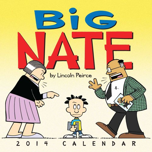 Download Big Nate 2014 Wall Calendar 1449433340