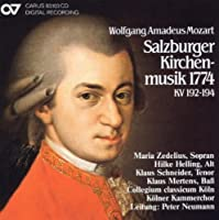 Salzburg Church Music 1774