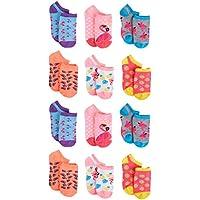 dELiAs Girls' No Show Socks (12 Pack)