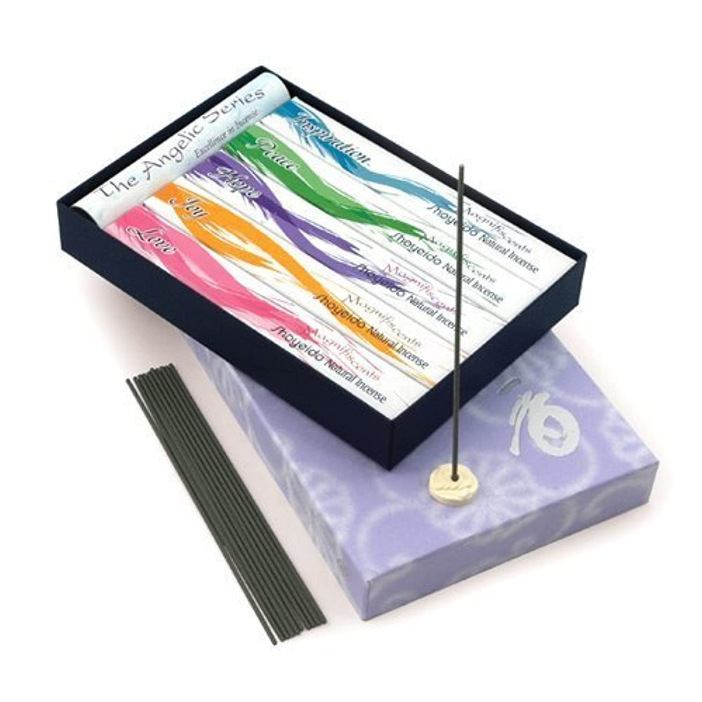 スパイラルエチケットベットShoyeido's Angelic Incense 5-Bundle Gift Set by SHOYEIDO
