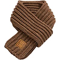 Bestgift Unisex Kid Solid Color Knitted Warm Winter Scarves