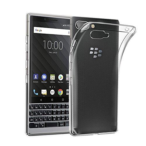 AVIDET BlackBerry KEY2 ケース 衝撃吸収バンパー アン...