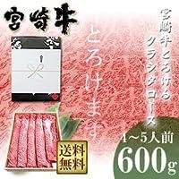 新垣ミート 宮崎牛 とろけるクラシタロース600g《ギフトラッピング仕様》 宮崎県産