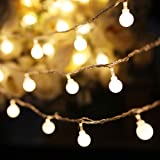 Indoor String Lights YMing 33FT 100 LED Fairy Light for Teepee Tents Decorative Ball String Light for BedroomChristmas PatioG