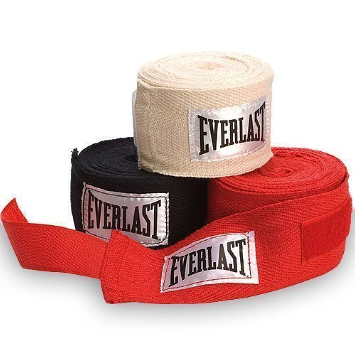 Everlast Hand Wraps - Red, 108 Inch by Everlast