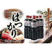 【松本醤油】 はつかり醤油6本セット(パック) 江戸時代より使っている木桶にて発酵
