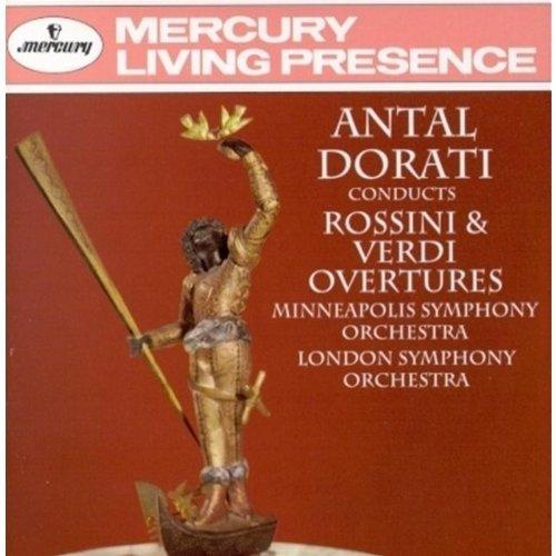 Antal Dorati Conducts Rossini & Verdi Overturesの詳細を見る