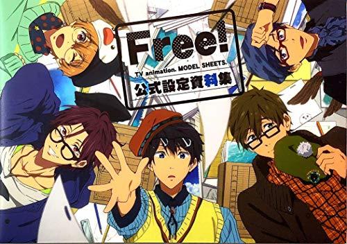 Free!+公式設定資料集+クリエイターズメッセージブック