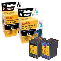 KODAK Remanufactured Ink,Combo Pack