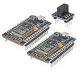Pinbotronix 2個 ESP8266無線受信発信モジュールESP-12E NodeMcu LUA WiFiインターネット新バージョン開発ボード Arduinoに適用