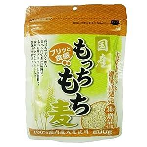 ディジャパン 国産 もっちもち麦 280g×3袋