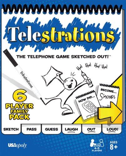 テレストレーション (Telestrations) 6 Player - Family Pack [並行輸入品] ボードゲーム