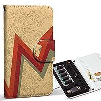 スマコレ ploom TECH プルームテック 専用 レザーケース 手帳型 タバコ ケース カバー 合皮 ケース カバー 収納 プルームケース デザイン 革 ユニーク 矢印 赤 レッド 人物 008542