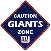 NFLユニセックスCaution Wall Sign Plaque ブルー