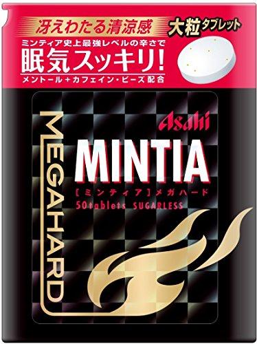 アサヒグループ食品 ミンティア メガハード 50粒×4個