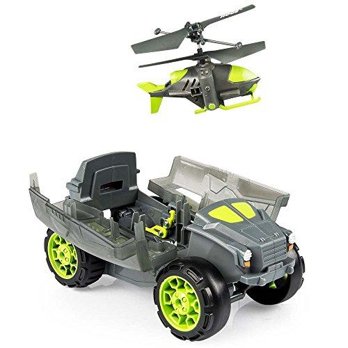 【ハピネット】 AIRHOGS 空陸両用機密ヘリ ステルスランチャー (おもちゃ ラジコン)