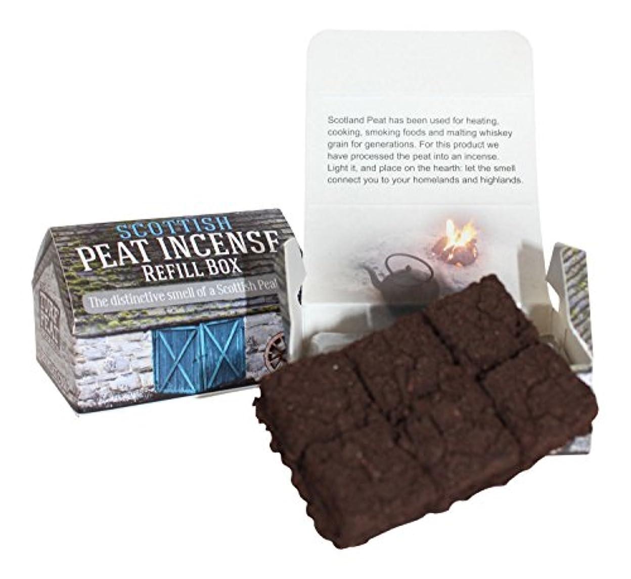 ビン床を掃除するタイトルスコットランドTurf Peat Incense Refills forセラミックHighland Cottage Burner