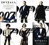 007 Skyfall スカイフォール ポストカード6枚セット ジェームズ・ボンド ダニエル・クレイグ