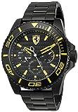 ブラック メンス アナログ ファッション クォーツ Ferrari 時計 XX Kers ???? 0830309