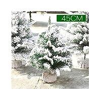 正月飾り新しい群がるクリスマスツリーの装飾パッケージ白い雪窓1.2 m 150/180 cmクリスマスツリー45cm