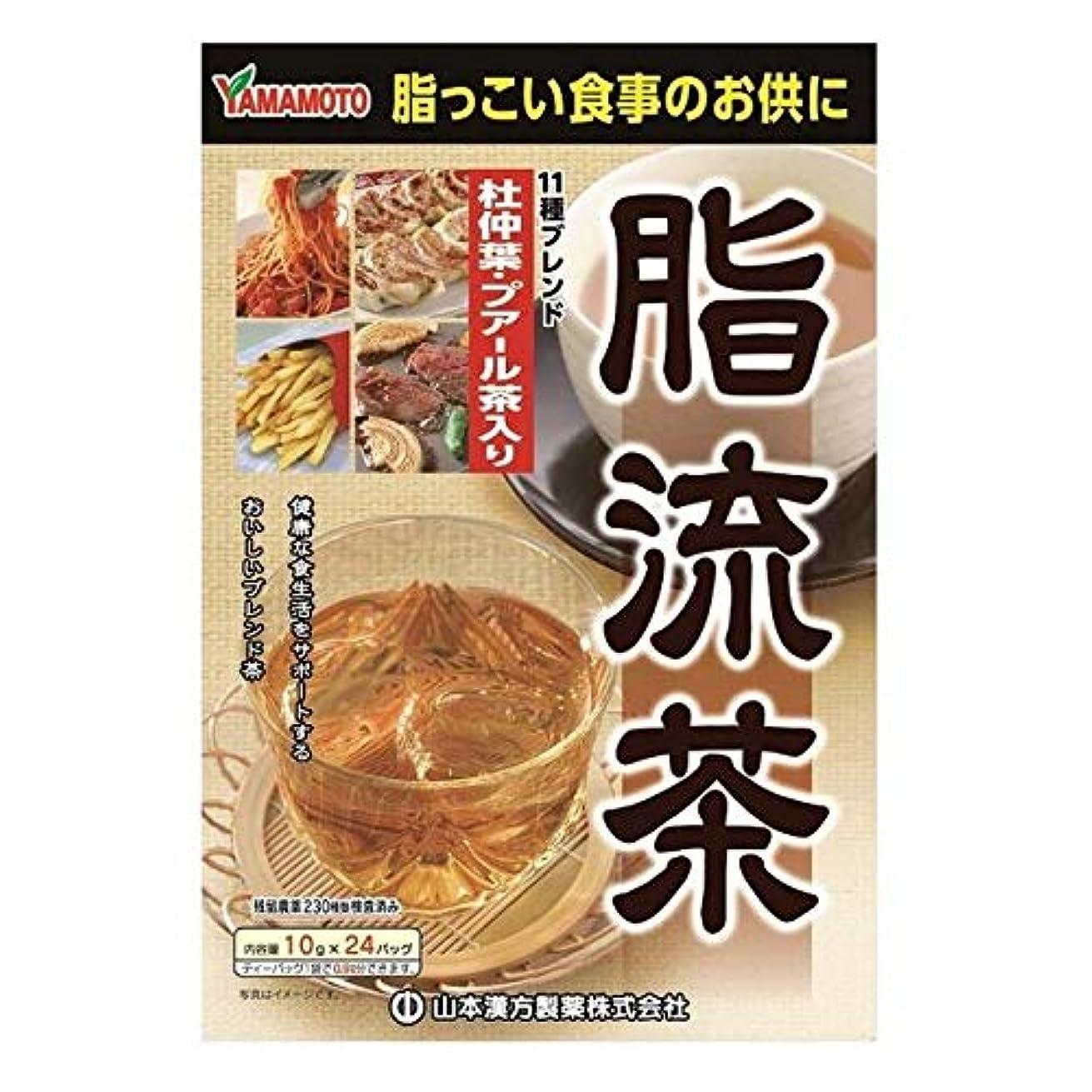 入植者圧縮されたブース【5個セット】山本漢方製薬 脂流茶 10gX24H ×5個セット