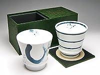 【有田焼ギフトセット】うまい焼酎をもっとうまく!匠の蔵 至高の焼酎グラス 龍門&響