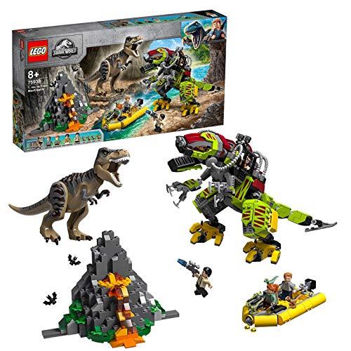 レゴ(LEGO)ジュラシック・ワールド T - レックス vs ダイノメカの戦い 75938