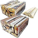 No52 良く燃える針葉樹の薪と 火持ちの良い広葉樹の薪 宅配80サイズ2箱セット 焚付け付き 長さ約35㎝ 【産地】長野県 八ヶ岳通販