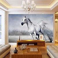Wapel Beibehang 絵画、壁の壁紙の壁画 steed 壁紙写真 3 d リビングルームベッドルームの家の装飾の壁紙 絹の布 400x280CM
