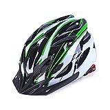 ANR 自転車 ヘルメット 超軽量 高剛性 サイクリング 大人用 ロードバイク クロスバイク 通勤 サングラス セット 弱虫ペダル (緑/黒)