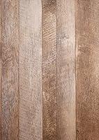 東洋ケース KABEDECO ウォールステッカー 壁紙 シール 簡単貼り付け はがせる たて120×よこ47cm 木目調 グレー グレーウッド KABE-12-03