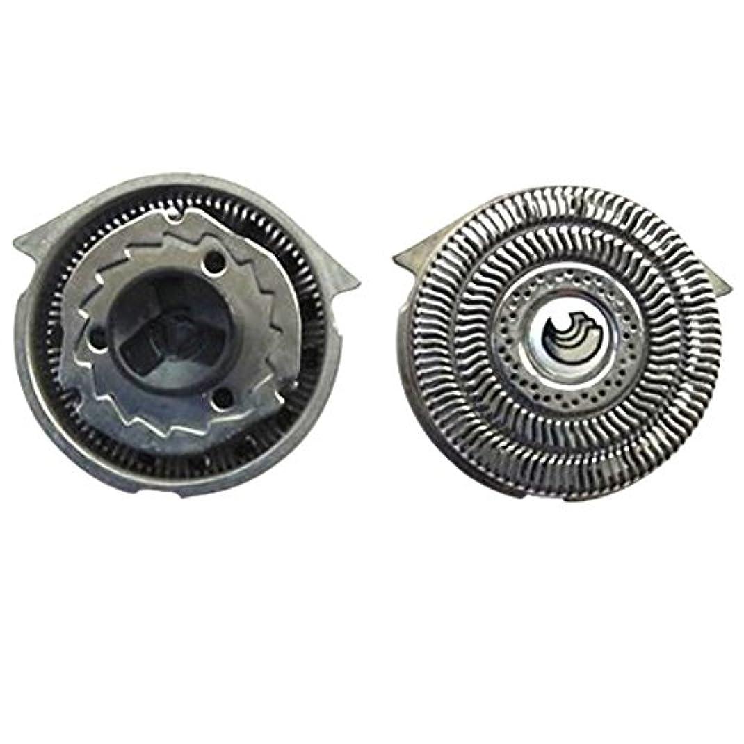 不毛の凍ったさびたDeylaying 置換 シェーバー 頭 フォイル 刃+カッター for Philips S9911 S9731 S9711 S9511