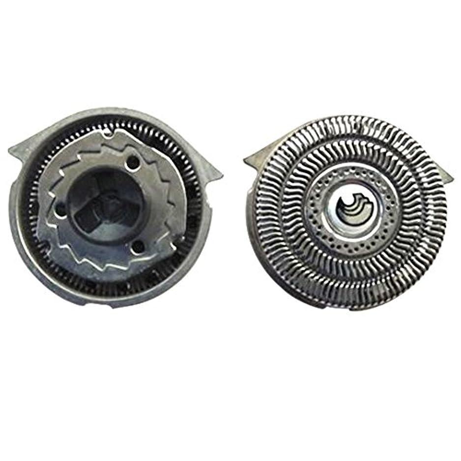 シングル飾る結果としてDeylaying 置換 シェーバー 頭 フォイル 刃+カッター for Philips S9911 S9731 S9711 S9511