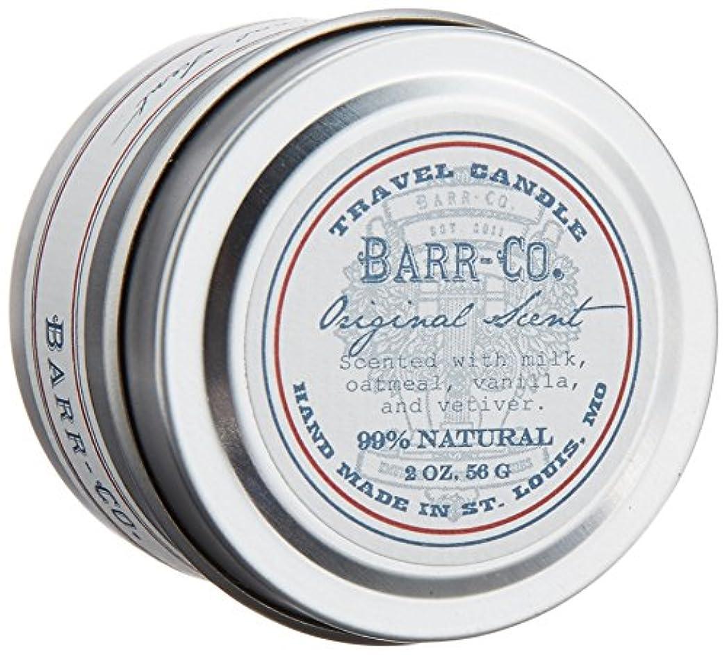 体系的に布十分ですBARR-CO.(バーコー) トラベルキャンドル