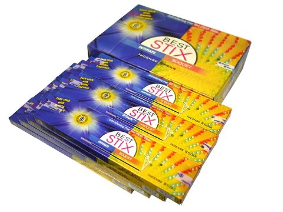 マナー委託秘密のSHANKAR'S(シャンカーズ) ベストスティックス香 スティック BEST STIX 12箱セット