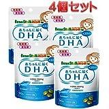 ビーンスターク・スノー ビーンスタークマム 母乳にいいもの赤ちゃんに届くDHA90粒(30日分) ×4個セット4か月分