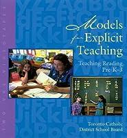 Models for Explicit Teaching