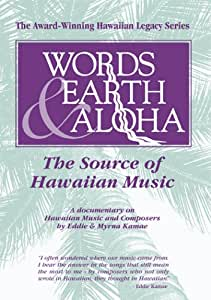 Words Earth & Aloha: Source of Hawaiian Music [DVD] [Import]