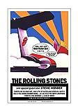 原シュガーアートスタジオ ローリングストーン/スティービーワンダー 1972年 アクロン コンサートポスター