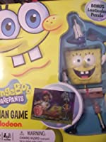 Spongebob Squarepants Hangman Game in Tin