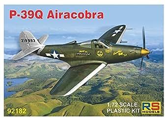 RSモデル 1/72 アメリカ陸軍 P-39Q エアラコブラ プラモデル 92182