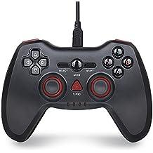 PS3 コントローラー BEBONCOOL PC コントローラー Android ゲームパッド 解体可能のケーブル 付き PC PC360 PS3 Androidを支持 (一台)