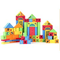 QXMEI 子供用 おもちゃ 子供用 ブロック フォーム ファイト ビルディングブロック 早期教育 パズル ビルディングブロック 玩具 製品サイズ: 22.8インチ 14.6インチ 3インチ